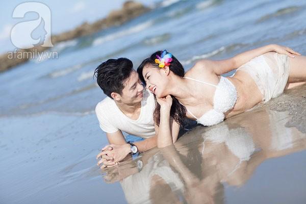 Chuyện tình ngọt ngào của cặp đôi chung lớp và bộ ảnh cưới biển đẹp như mơ 9
