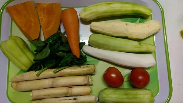 Chế biến rau củ quả ăn dặm