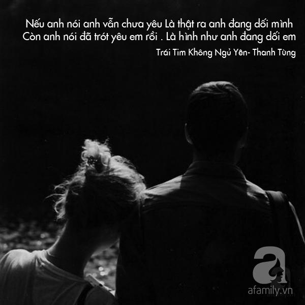 Loi bai hat nhac si Thanh Tung 1