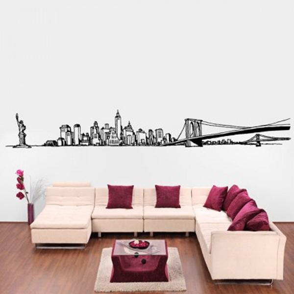 Trang trí nhà với những mẫu đề can dán tường tuyệt đẹp 15