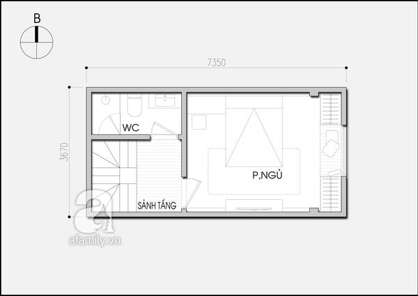 Tư vấn cải tạo phòng cưới 15m² cho vợ chồng trẻ 2