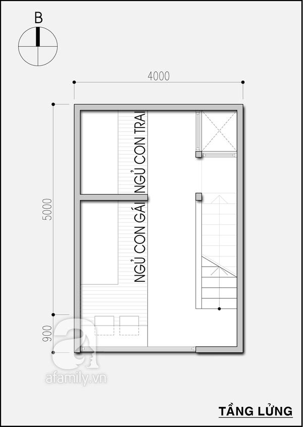 Tư vấn thiết kế nhà 20m² tiện nghi cho gia đình 5 người 3