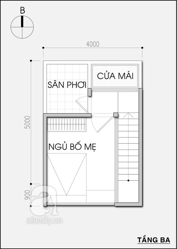 Tư vấn thiết kế nhà 20m² tiện nghi cho gia đình 5 người 4