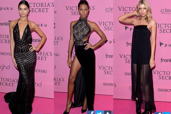 Ngọc Trinh & Khánh My cũng xuất hiện trên thảm đỏ Victoria's Secret Show 17