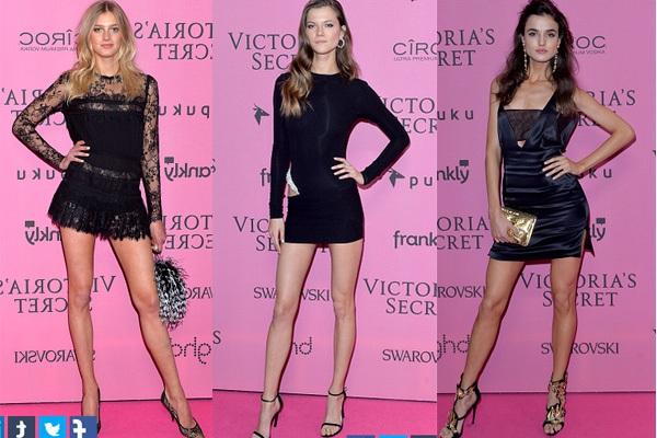 Ngọc Trinh & Khánh My cũng xuất hiện trên thảm đỏ Victoria's Secret Show 18