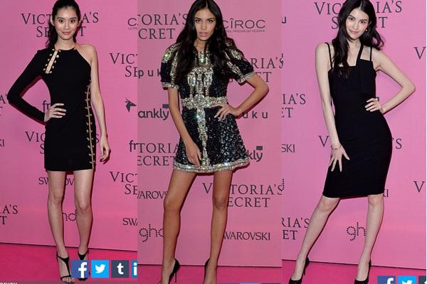 Ngọc Trinh & Khánh My cũng xuất hiện trên thảm đỏ Victoria's Secret Show 7