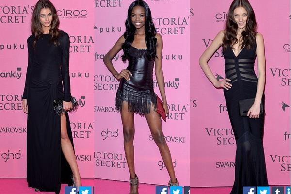 Ngọc Trinh & Khánh My cũng xuất hiện trên thảm đỏ Victoria's Secret Show 12