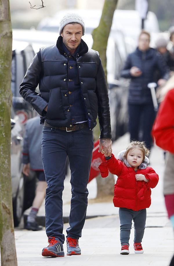 """Những bộ cánh thời trang """"đốn tim"""" phái đẹp của David Beckham  17"""