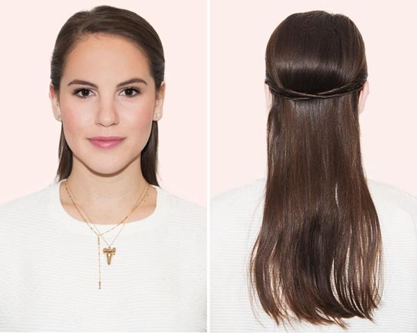 tạo kiểu tóc khi đầu bết bẩn2