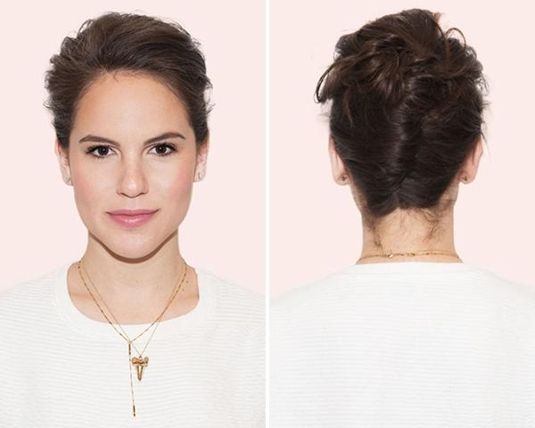 tạo kiểu tóc khi đầu bết bẩn 3
