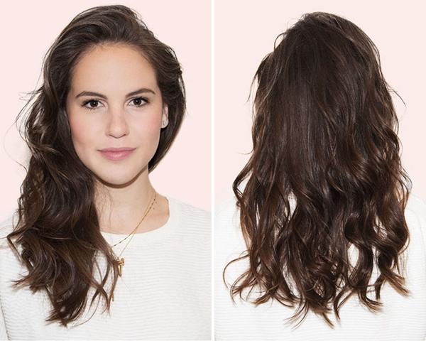 tạo kiểu tóc khi đầu bết bẩn 4