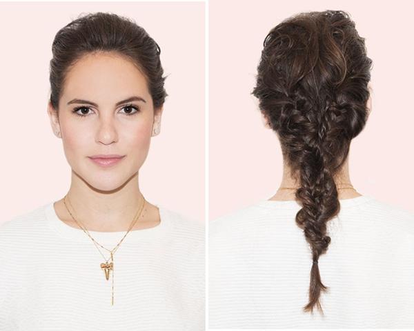 tạo kiểu tóc khi đầu bết bẩn 5