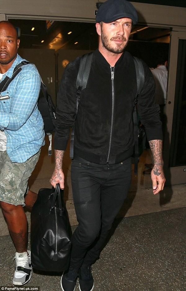 """Những bộ cánh thời trang """"đốn tim"""" phái đẹp của David Beckham  22"""