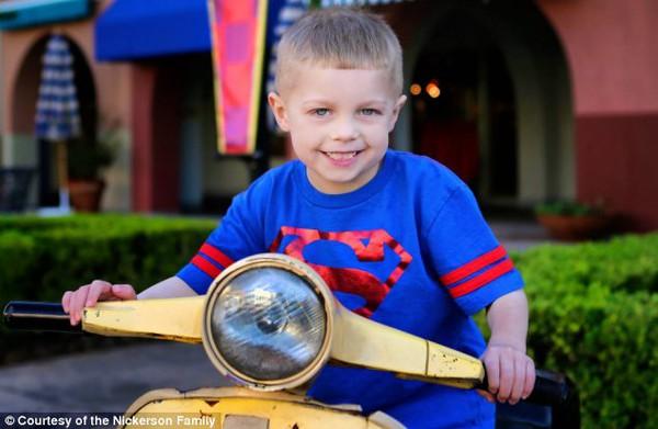 Ước mơ cảm động của cậu bé bị bệnh ung thư dạng hiếm gặp  1