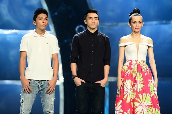 Thu Minh ân cần lau nước mắt cho thí sinh bị loại 3