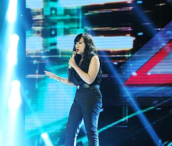 Cô bé Hạnh Phúc khiến giám khảo X-Factor... đẻ trứng! 9