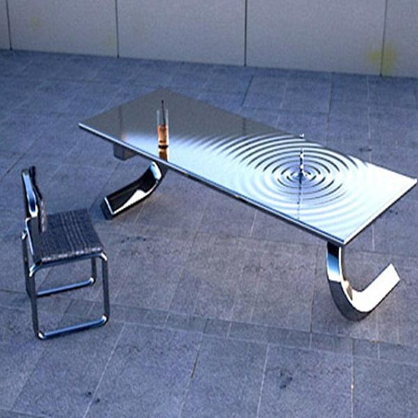 Những mẫu bàn siêu ấn tượng cho phòng khách 2