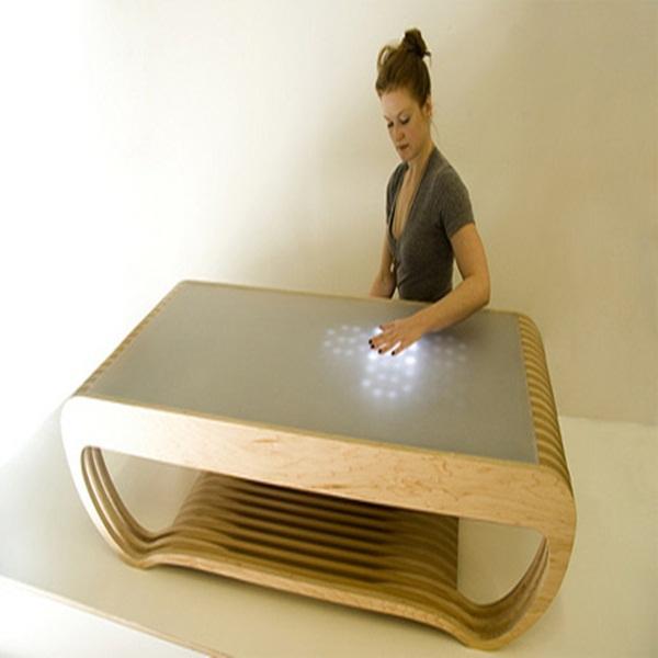 Những mẫu bàn siêu ấn tượng cho phòng khách 3