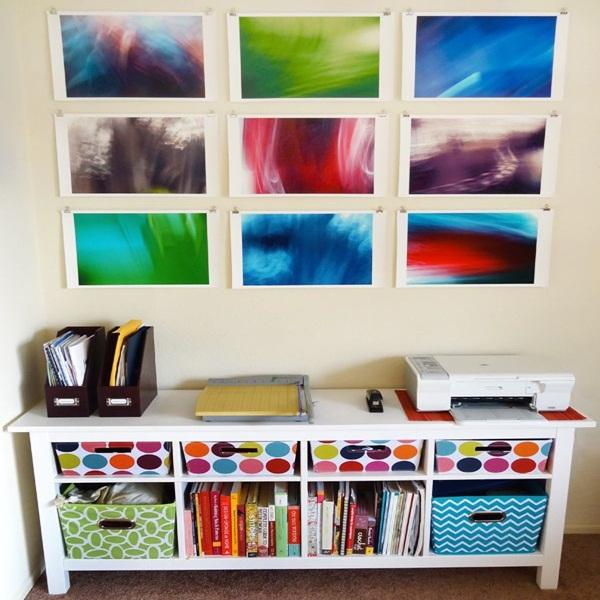 20 ý tưởng có tự trang trí tường nhà dễ thực hiện (P2)  9