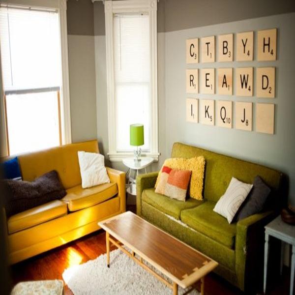 20 ý tưởng có tự trang trí tường nhà dễ thực hiện (P2)  3