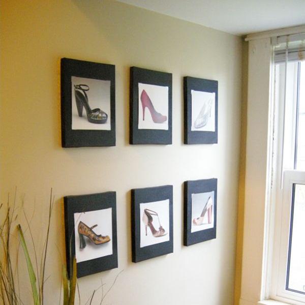 20 ý tưởng có tự trang trí tường nhà dễ thực hiện (P2)  10