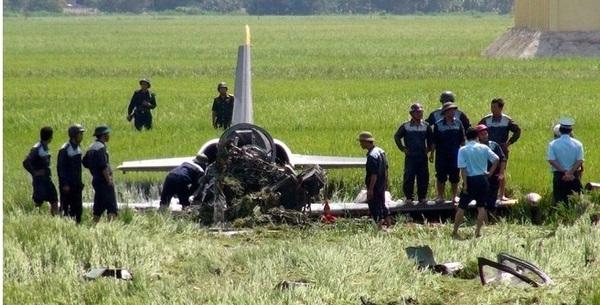 CẬP NHẬT: Máy bay huấn luyện phản lực L-39 của KQVN rơi tại Phú Yên