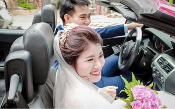 Choáng với đám cưới xa hoa, rước dâu bằng dàn ôtô gần 100 chiếc