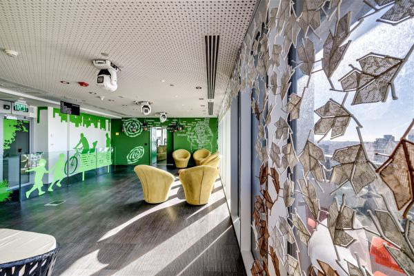 Mãn nhãn với văn phòng mới của Google 10