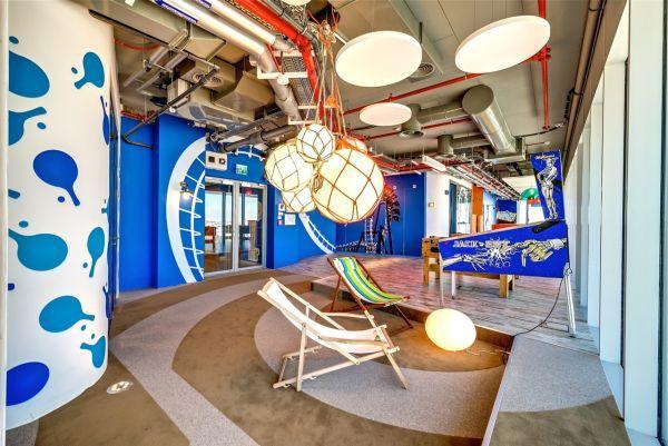 Mãn nhãn với văn phòng mới của Google 16