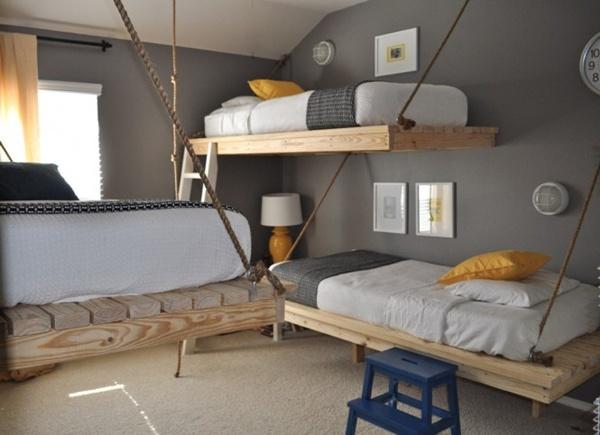 Những thiết kế giường ngủ độc và tiết kiệm diện tích  4