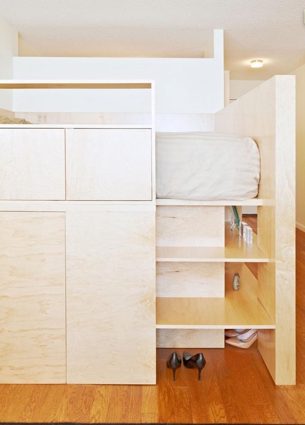 Những thiết kế giường ngủ độc và tiết kiệm diện tích  8