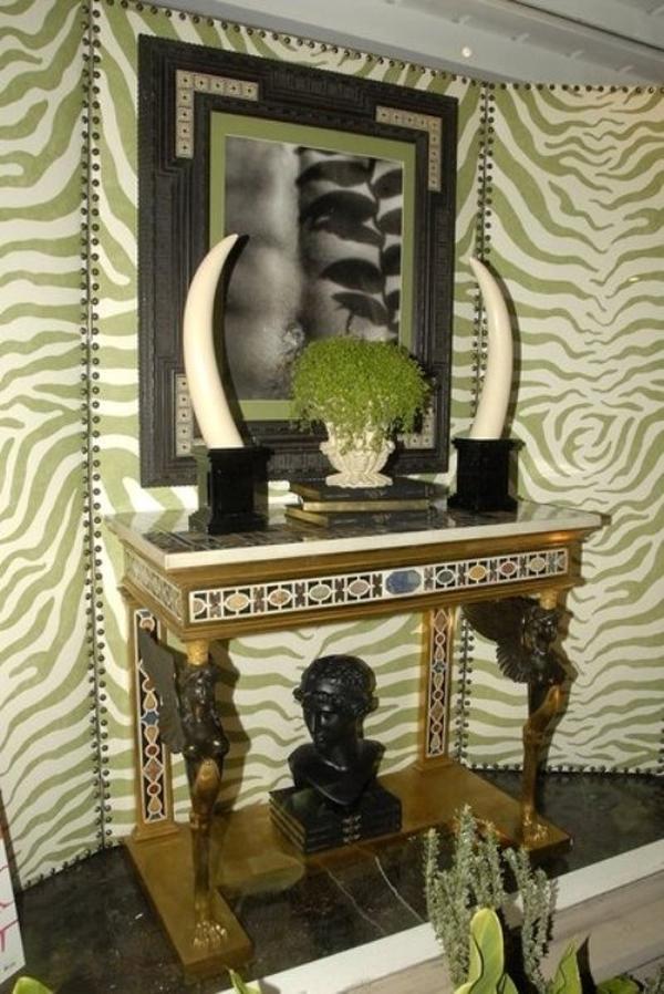 Trang trí nhà hiện đại với họa tiết ngựa vằn 4