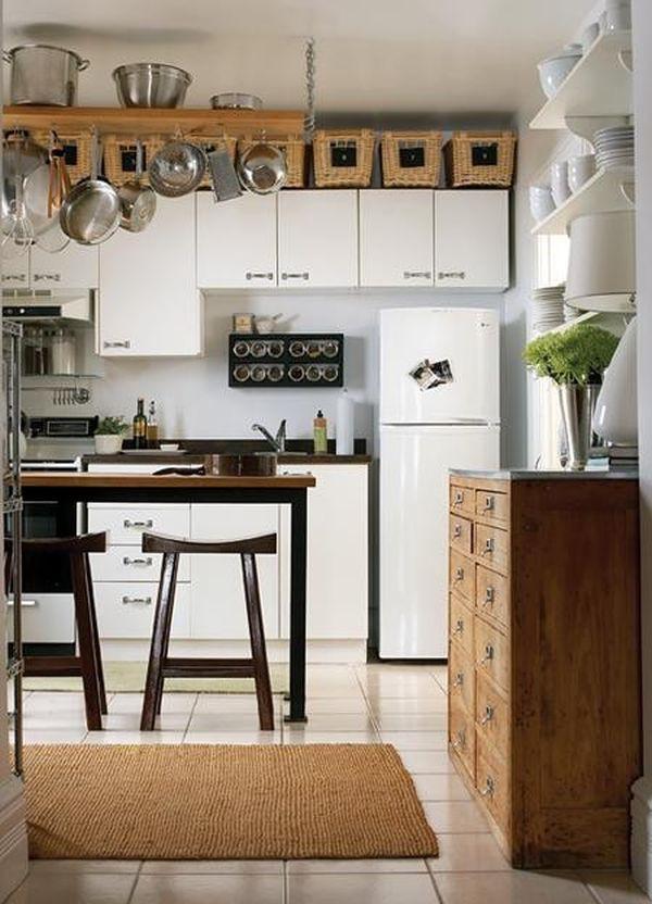 Mẹo tận dụng nóc tủ bếp để lưu trữ và trang trí bếp cực đỉnh 4
