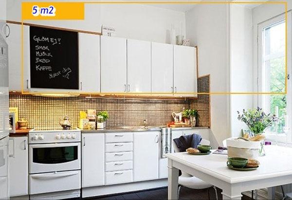Mẹo tận dụng 5 mét vuông biến phòng bếp trở nên gọn gàng 10