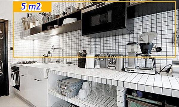 Mẹo tận dụng 5 mét vuông biến phòng bếp trở nên gọn gàng 11