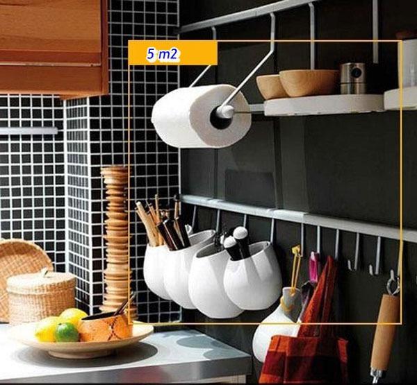 Mẹo tận dụng 5 mét vuông biến phòng bếp trở nên gọn gàng 5