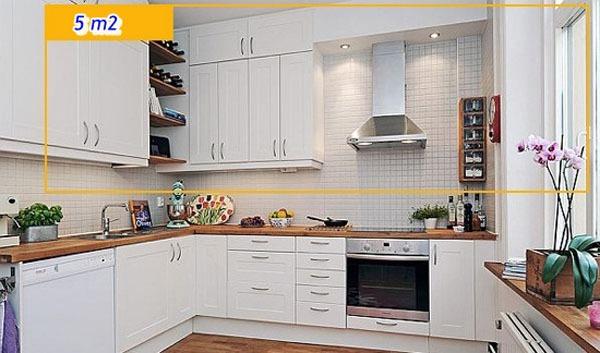 Mẹo tận dụng 5 mét vuông biến phòng bếp trở nên gọn gàng 9
