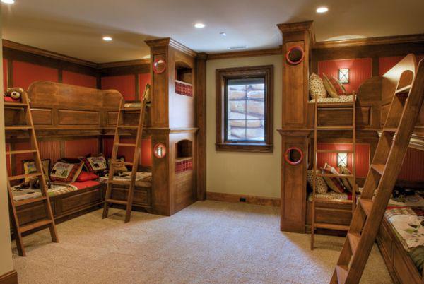 Ngắm những mẫu giường tầng tiết kiệm diện tích cho phòng ngủ nhỏ 4