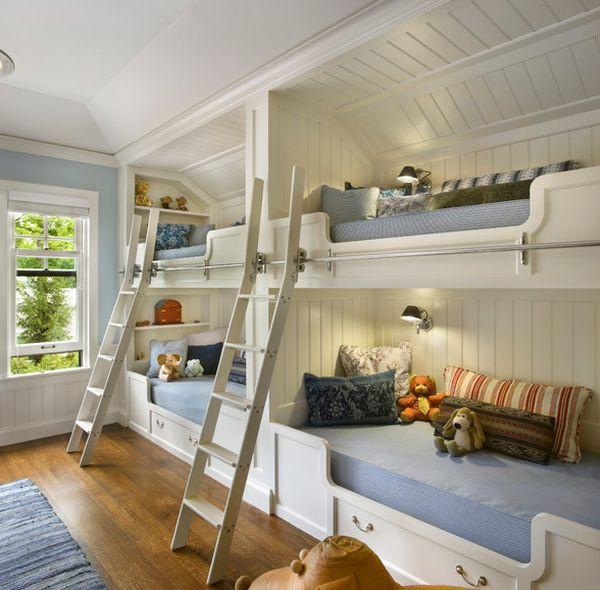 Ngắm những mẫu giường tầng tiết kiệm diện tích cho phòng ngủ nhỏ 7