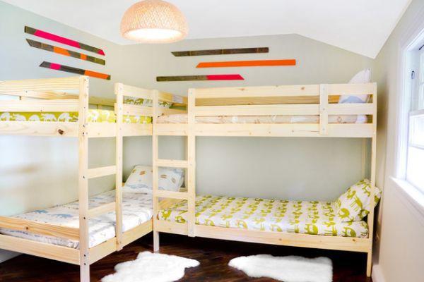 Ngắm những mẫu giường tầng tiết kiệm diện tích cho phòng ngủ nhỏ 10