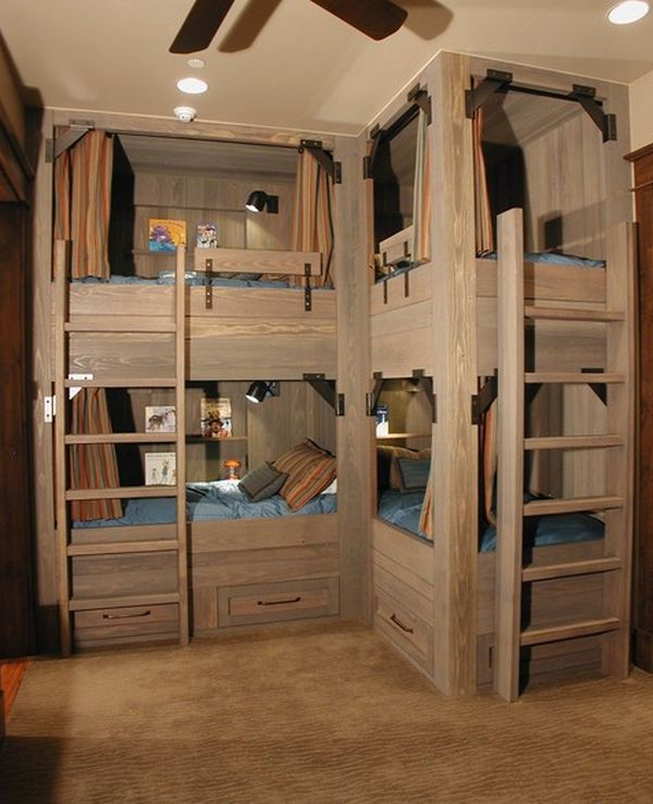 Ngắm những mẫu giường tầng tiết kiệm diện tích cho phòng ngủ nhỏ 3