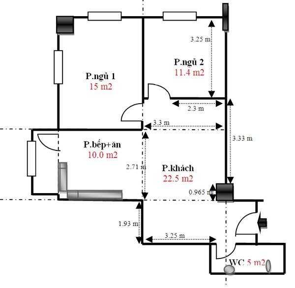 Tư vấn thêm phòng ngủ cho căn hộ mà vẫn đảm bảo thẩm mỹ 1
