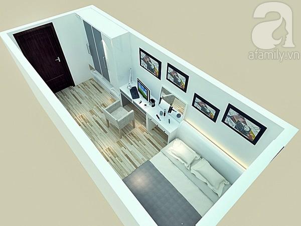 Tư vấn chi tiết cách  bố trí và chọn nội thất cho phòng ngủ 12m²  3