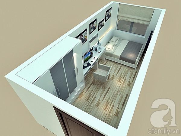 Tư vấn chi tiết cách  bố trí và chọn nội thất cho phòng ngủ 12m²  2