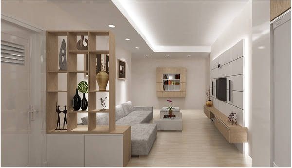 Tư vấn bố trí nội thất khắc phục nhược điểm của căn hộ chung cư  2