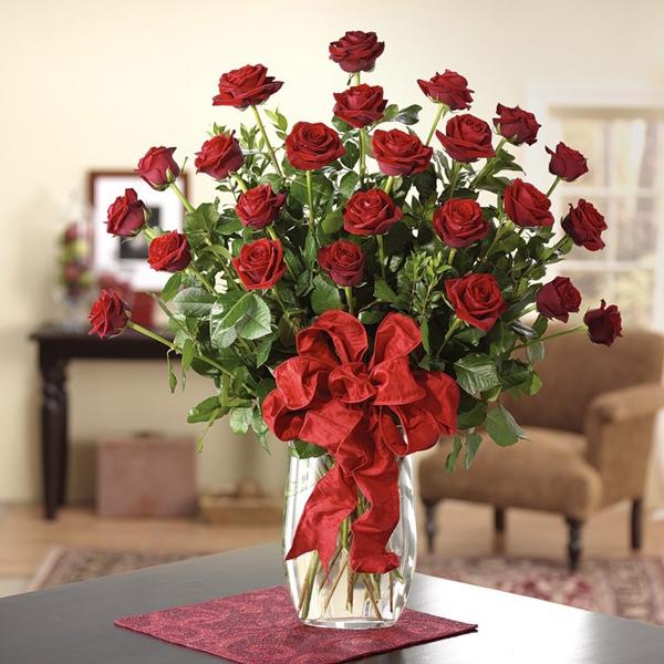Gợi ý cách cắm hoa hồng ấn tượng cho từng không gian sống  1
