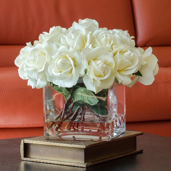 Gợi ý cách cắm hoa hồng ấn tượng cho từng không gian sống  3