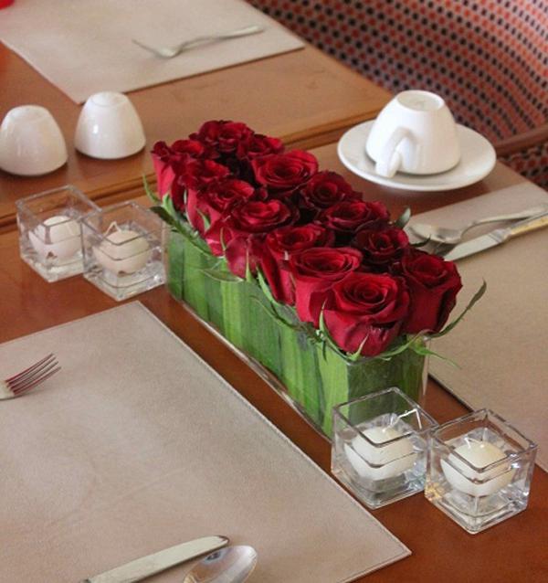 Gợi ý cách cắm hoa hồng ấn tượng cho từng không gian sống  5