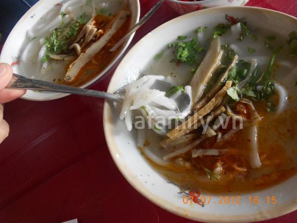 Đà Nẵng: Quá rẻ và ngon bát bánh canh cá nướng 3