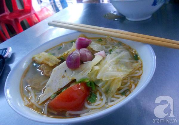 Đà Nẵng: Đỡ ngán với bún chả cá ngày đầu năm 2